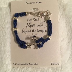 Jewelry - Adjustable Anchor Bracelet